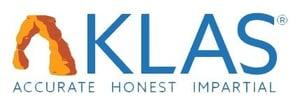 KLAS logo - accurate, honest, impartial